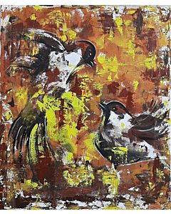 Bird abstract 91