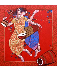 indian art,Contemporary Painting for your home Space , big canvas painting , large wall art