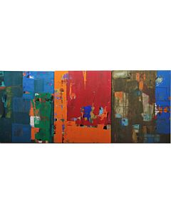 Abstract Life -3 Painting set
