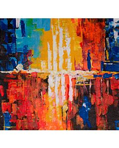 Bring a colorful burst of abstract art to your walls with modern painting and every time you'll fall in love with it over and over again