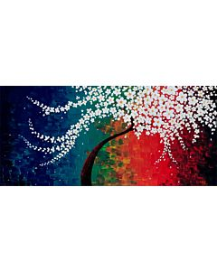 flower art,Enhance the beauty of Your Walls through Floral Paintings