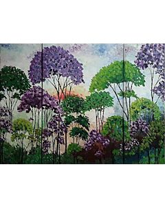 scenery painting,Landscape painting on canvas to decorate your living space