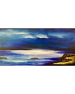 Seascape painting,landscape painting that transform living room