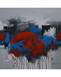 abstract painting,Modern art Paintings in Canvas medium adds definite charisma to your Living Room