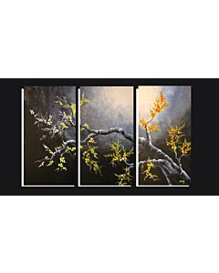 large canvas art,You can easily add a touch of color to a room through large artwork