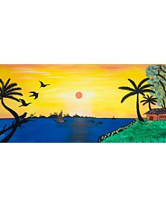 Beautiful scenary painting for living room .Buy Most Beautiful Nature Paintings Online at Indianartzone.100% Handpainted Nature Paintings on Canvas and other Abstract Nature Paintings available online