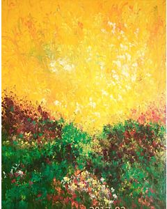 Floral Painting-Morning Raga 1
