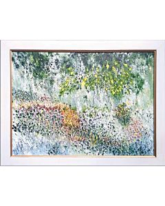 nature art,Stunning nature art painting will suitably fit your living room!