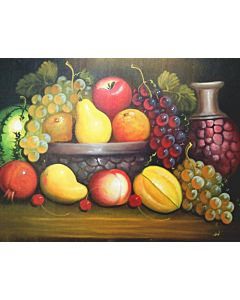 still life,realistic Painting that will take centre stage of your space