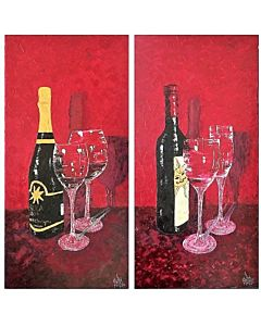 still life art,Something highly still life can often be a good choice for the bedroom because it fuels your imagination