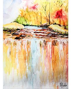 Nature painting , Modern Painting , Modern Wall Art
