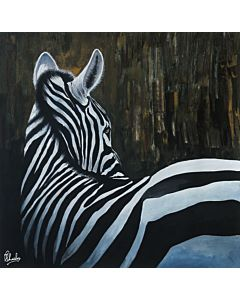 zebra art,zebra painting,realistic art,realistic painting,original artwork that will bring a coherance of positivity and vibrance to the entire wall and room