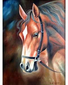 horse painting,realistic art,oil painting,realistic painting,oil painting can improve your home interiors