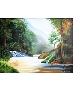 oil painting,nature painting,scenery painting,scenary painting,oil painting can improve your home interiors