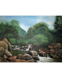 landscape painting,landscape art,realistic art,Enhance the beauty of Your Walls through large  canvas Painting