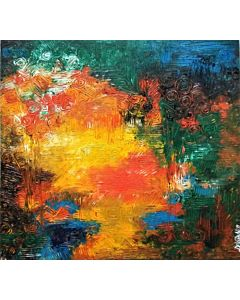 Abstract art is perfect for both modern and traditional spaces