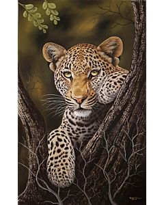 wild animal painting,unrevealed beauty in realistic painting best suitable for living room