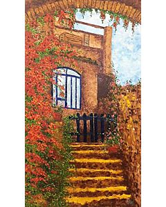 scenery painting,Beautiful nature painting on canvas to decorate your wall space