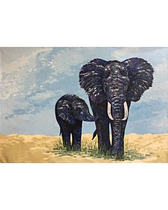 animal painting,Beautiful animal painting on canvas to decorate your wall space