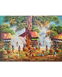 scenery art,scenery Painting that will take centre stage of your space