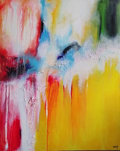 "Abstract painting,""Abstract art is perfect for both modern and traditional spaces. Add some cheer to your home with a beautiful painting that reflects your creativity.  