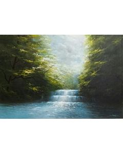 landscape art,Scenery Painting,landscape painting that transform living room