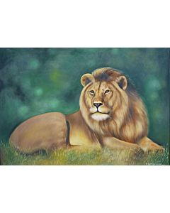 animal painting, realistic art ,Beautiful painting for your living room that generates sweet emotions