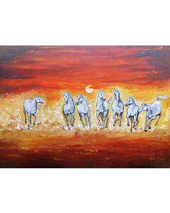 Seven horse