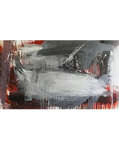 abstract art,Large Abstract Painting that can Invoke your New Dimensional Thinking