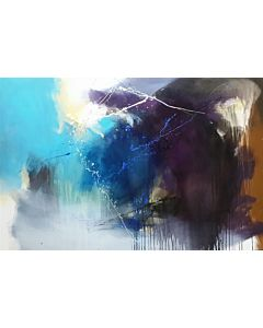 large painting ,Large Abstract Painting that can Invoke your New Dimensional Thinking