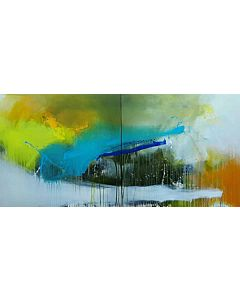 large canvas wall art,Large Abstract Painting that can Invoke your New Dimensional Thinking