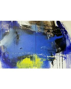 large wall painting,Large Abstract Painting that can Invoke your New Dimensional Thinking