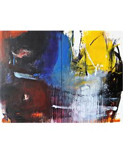 large abstract wall art,Large Abstract Painting that can Invoke your New Dimensional Thinking