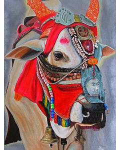 Tibetan Decor Cow