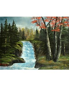 Waterfall in Forest series 2