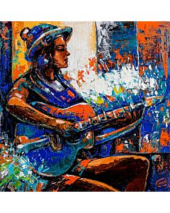 Music Painting,Contemporary Art in unique style to redefine the appearance of your wall
