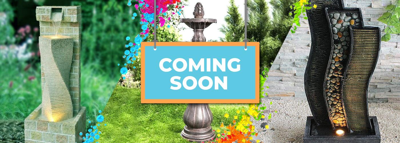 Fountain Decor coming soon