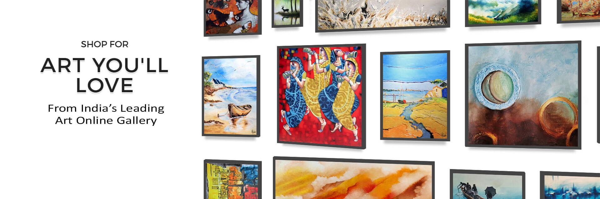Painting Online India's best online art gallery   IndianArtZone.com