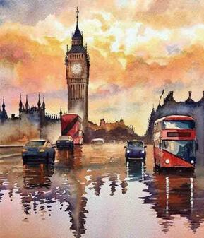 city-paintings